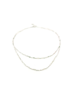 Lover's Tempo LT Cleo Layered Necklace, Silver