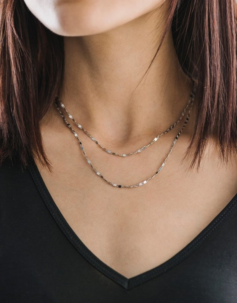 Lover's Tempo Cleo Layered Necklace Silver-Plated by Lover's Tempo