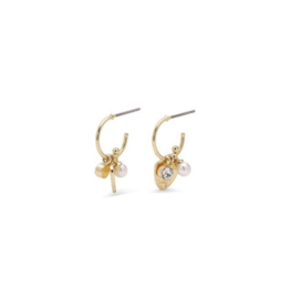 PILGRIM PILGRIM Earrings Gold Ama Mini Hoops