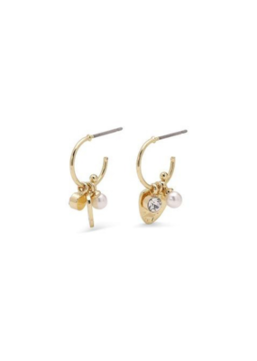 PILGRIM PILGRIM Earrings Gold Ama Mini Hoops