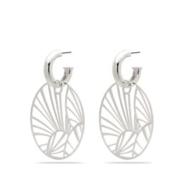PILGRIM PILGRIM Asami Earrings Silver 101926043
