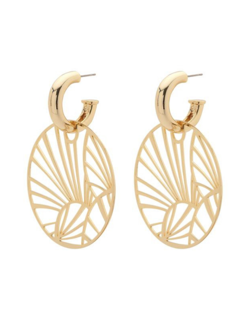 PILGRIM PILGRIM Asami Earrings Gold