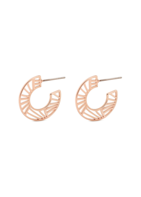 PILGRIM PILGRIM Asami Earrings Rose Gold 101924013