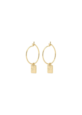 PILGRIM PILGRIM Tana Earrings Gold
