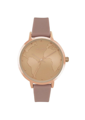 PILGRIM PILGRIM Watch Clare Rose Gold Nude