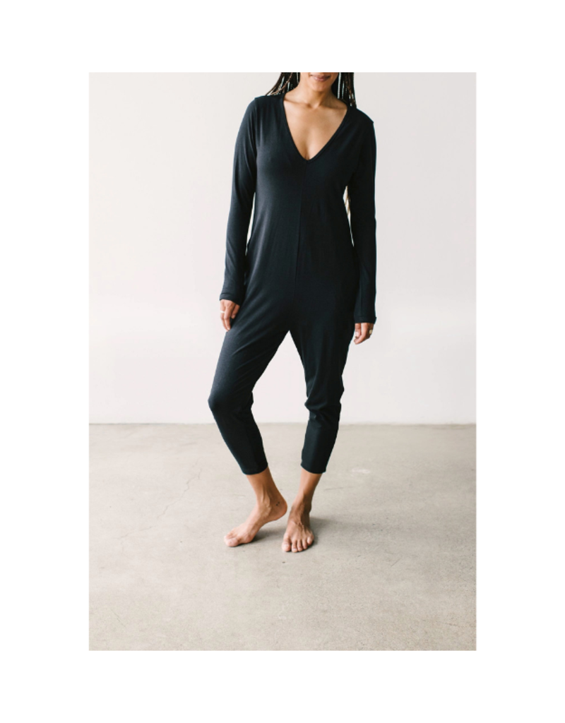 Smash + Tess Friday Romper in Black by Smash + Tess