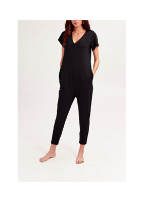Smash + Tess Sunday Romper in Black by Smash + Tess