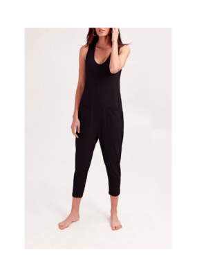 Smash + Tess Saturday Romper in Black by Smash + Tess