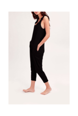 Smash + Tess Sweetheart Romper in Black by Smash + Tess