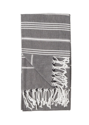 Sultan Turkish Body Towel - Black