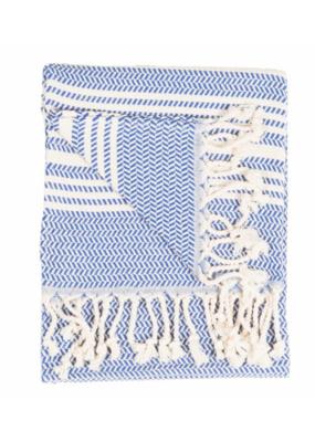 Hasir Hand Towel, Navy