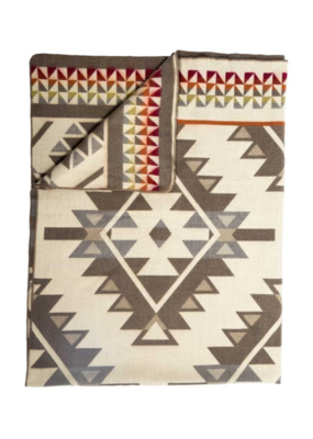 Alapaca Double Blanket Tan