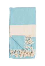 Pokoloko Diamond Turkish Body Towel - Aqua
