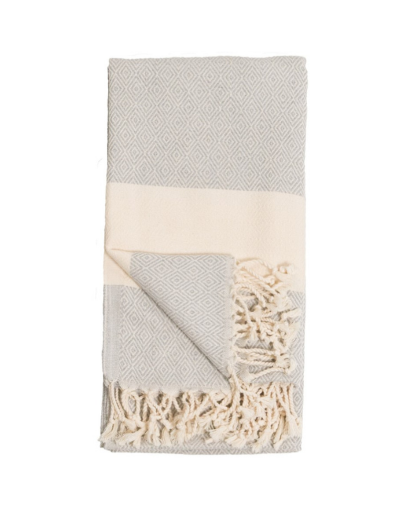 Diamond Turkish Body Towel - Mist
