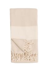 Diamond Turkish Body Towel - Cream