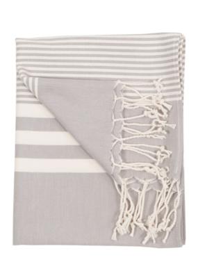 Harem Turkish Hand Towel - Silver