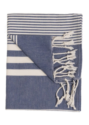Harem Turkish Hand Towel - Denim