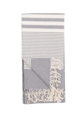 Harem Turkish Body Towel - Slate