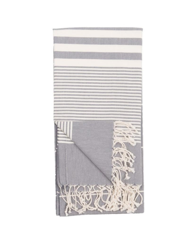 Harem Turkish Body Towel - Slate
