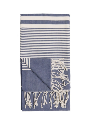 Harem Turkish Body Towel - Denim