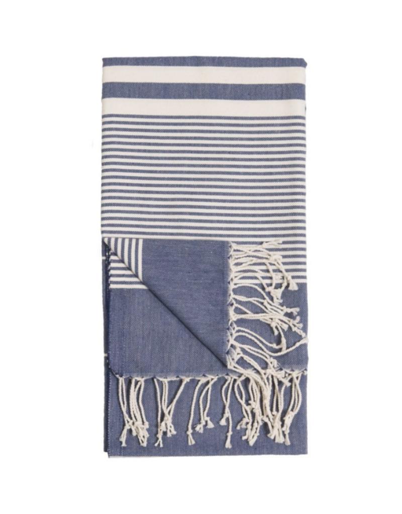 Harem Turkish Body Towel - Denim