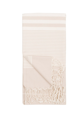 Harem Turkish Body Towel - Cream