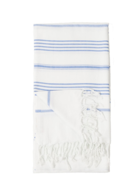 Sultan Turkish Body Towel - White
