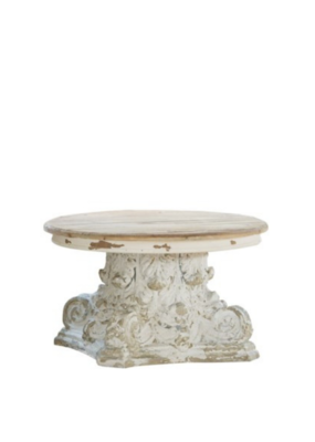Round Pedestal Table Small