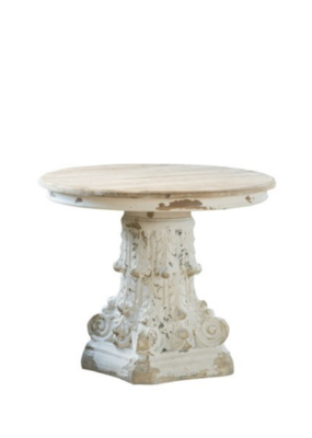 Round Pedestal Table Medium