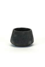 Black Concrete Planter Small