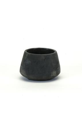 Black Concrete Planter Small
