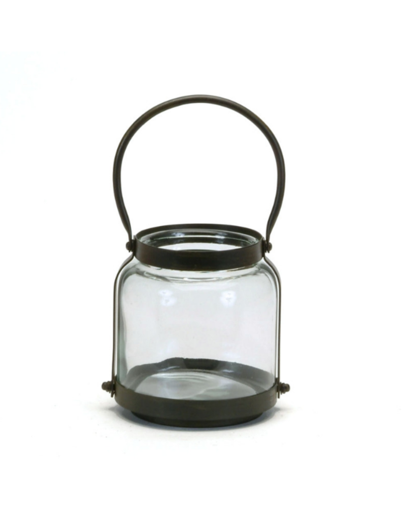 Round Lantern with Handle - Small