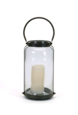 Round Lantern with Handle - Large