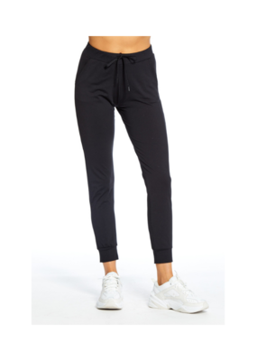 "Goodhyouman good hYOUman Jogger ""Better than Yesterday"" Pant in Black Sand"