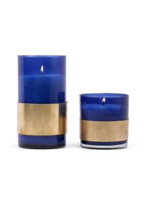 Hydrangea Pine Paddywax Dwell Candle With Brass