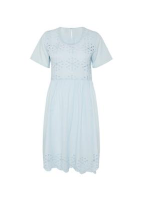 ICHI ICHI Flory Dress, Corydalis Blue