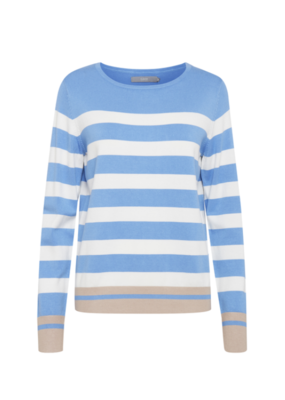"b.young b.young ""Pimba Sweater"" in Cornflower Blue"
