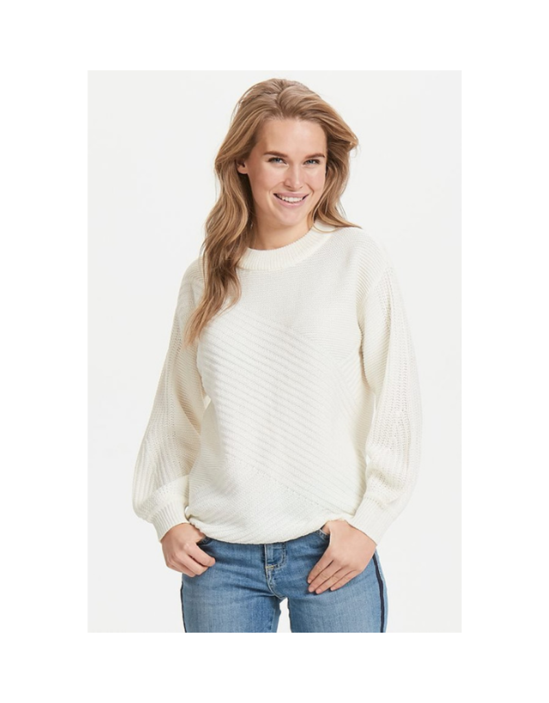 "b.young b.young ""Melissa Sweater"" in Off White"
