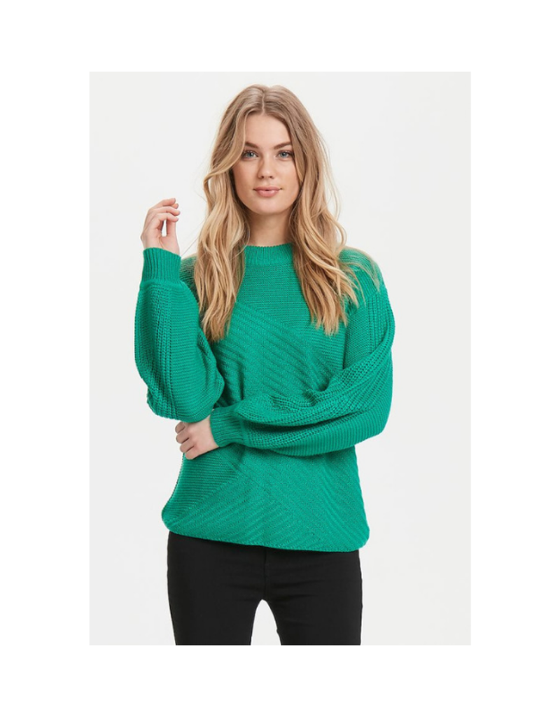 b.young ONLINE EXCLUSIVE!  BY Sweater, Melissa, Fresh Green