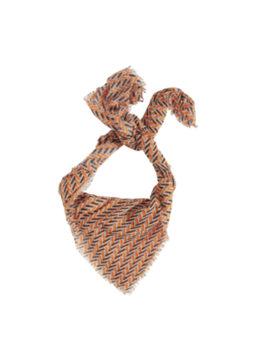 "b.young b.young ""Vary Scarf"" in Tulip Orange"