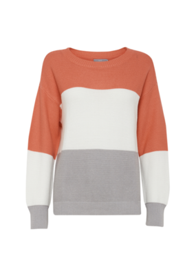b.young ONLINE EXCLUSIVE!  BY Sweater, Maravi, Sunkist Coral