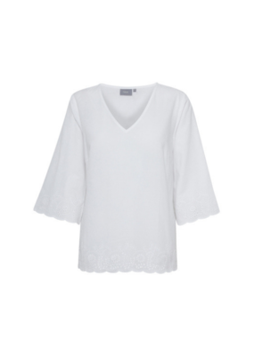 b.young ONLINE EXCLUSIVE!  BY Honey Blouse, Optical White