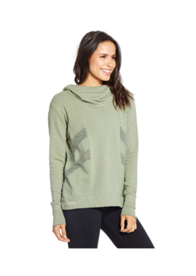 "Goodhyouman good hYOUman Pullover ""Be You"" in Seagrass"