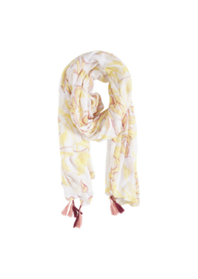 b.young BY Scarf, Wilda, Lemon Yellow