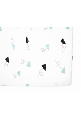 Pehr Designs Paper Airplanes Crib Sheet