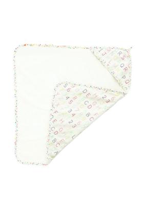 Pehr Designs Alphabet Hooded Towel