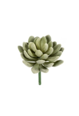 Fuzzy Succulent Pick, Green 3-9739*