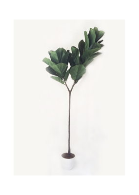 Fiddle Leaf Tree Faux Large