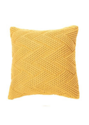 Zig Zag Cushion Yellow