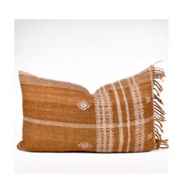 rug & weave Caramel Brown Bhujodi Pillow